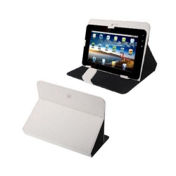Housse universelle tablette tactile 10.1 pouces support étui Blanc