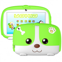 Tablette Educative Enfant Android 6.0 YOKID 7 Pouces Ecran Tactile 1GB RAM Quad Core Bluetooth 8Go Vert - Tablette tactile en...