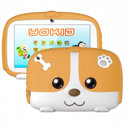 Tablette Educative Enfant Android 6.0 YOKID 7 Pouces Ecran Tactile 1GB RAM Quad Core Bluetooth 8Go Orange - Tablette tactile ...