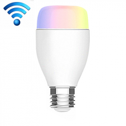 Ampoule LED Connectée E27 6W 6500K Compatible Alexa Amazon Echo Smartphones Android iOS Blanc