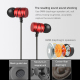 Écouteurs Intra-Auriculaires Kit Mains Libres Micro Universel iPhone Samsung Huawei Smartphone Tablette Rouge - Ecouteurs - w...