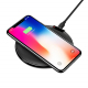 Chargeur Sans-Fil Qi Ultra-Fin Support Charge Rapide Compatible Smartphone Android iPhone Noir - Tout le stock - www.yonis-sh...