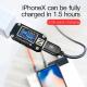 Câble USB 3 En 1 Chargement Rapide iPhone Lightning USB-C Micro USB 30cm Noir - Chargeur smartphone - www.yonis-shop.com
