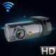 Mini Caméra Voiture Dashcam WIFI Android iOS Full HD 3MP Angle 140° Détection Mouvement - Dashcam - www.yonis-shop.com