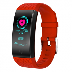 Bracelet connecté Smartwatch Fitness Tracker 0.96 pouce HD Couleur Smartband Smart Bracelet, IP68 Étanche, Support Sports Mod...