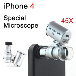 Microscope pour iPhone smartphone zoom 45X - Autres accessoires iPhone - www.yonis-shop.com