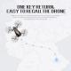 Drone Caméra Android iOS Quadricoptère Wifi Pliable 2.0 MP Télécommande Mode Maintien Altitude Blanc - Drone - www.yonis-shop...
