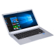 Ultrabook HPC156, 15,6 pouces, 4 Go + 64 Go, Windows 10 Intel X5-Z8350 Quad Core jusqu'à 1,92 GHz, Carte TF et Bluetooth & Wi...