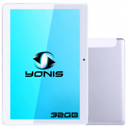 Tablette 10 pouces 4G Android 8.0 Deca Core 2.3 GHz Helio X27 3GB+32GB Argent - Tablette tactile 4G - www.yonis-shop.com