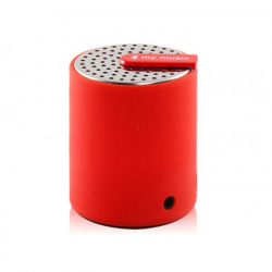 Mini enceinte bluetooth universelle smartphone tablette Rouge Enceinte Bluetooth YONIS