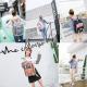 Sac à Dos Voyage Cartable Ecole Etudiant Ville 38 * 28 * 15cm Bleu Rose - Sac à dos ordinateur - www.yonis-shop.com