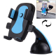 Support Voiture Téléphone iPhone Galaxy Huawei LG HTC Samsung Stabilisateur ABS 60-95 mm Bleu - Support smartphone - www.yoni...
