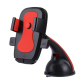 Support Voiture Téléphone iPhone Galaxy Huawei LG HTC Samsung Stabilisateur ABS 60-95 mm Rouge - Support smartphone - www.yon...