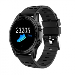 Montre Connectée iOS iPhone Android Écran Couleur OLED 2.5D Lentille Bluetooth Noir - Montre connectée sport - www.yonis-shop...
