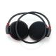 Casque Bluetooth Lecteur MP3 Sans Fil Radio FM Autonomie 10 h Carte Micro Sd Noir - Casque Bluetooth - www.yonis-shop.com