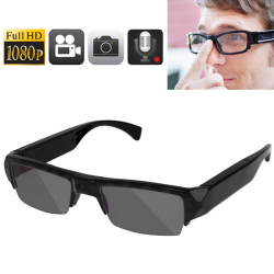 Lunette de soleil camera espion Full HD 1080p Photo 5MP CMOS microphone