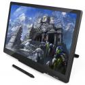 Tablette Graphique Avec Écran Windows Mac OS 21.5 Pouces 5080 LPI Stylo Numérique Sans Fil Noir - Tablette graphique - www.yo...