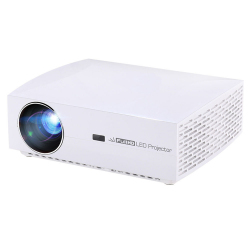 Vidéoprojecteur LED 5500 Lumens Projecteur Intelligent 1920 x 1080 Full HD Contraste 4000 : 1 Blanc