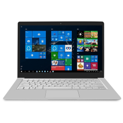 Ordinateur Portable Windows 10 Laptop 14.0 Pouces RAM 8 Go ROM 250 Go Processeur Intel Quad Core 2.4 GHz Bluetooth 4.2 Wifi Argent