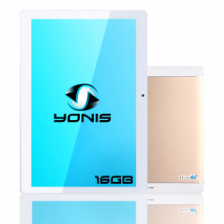 Tablette 10 pouces Android 7.0 Dual SIM 4G Quad Core 2GB+16GB Bluetooth Or - Tablette tactile 4G - www.yonis-shop.com
