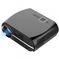 Vidéoprojecteur 3200 Lumens LED 160W Home cinema HD 1080p Gris