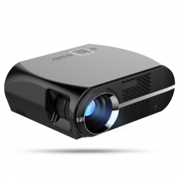 Vidéoprojecteur LED 170W 3000 Lumens Full HD 1080P Home cinema Noir