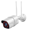 Caméra Surveillance Full HD 1080p 2.0 MP Compatible Android iOS Vision Nocturne Blanc - Camera IP - www.yonis-shop.com