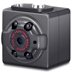 Mini Caméra Espion 12MP photo vidéos vision nocturne HD 1080P 32Go