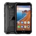 Smartphone Incassable Android 9.0 Double SIM 3G GPS 2+16Go AntiChoc 5 Pouces IP69 Noir