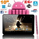 Tablette Tactile Android 4.4 KitKat Quad Core 8 Go Tablette 5000 mAh 2MP Bluetooth WiFi Rose