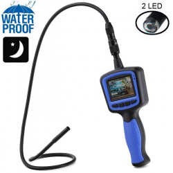 Endoscope caméra 2 LED écran LCD couleur vision nocturne bleue 17mm - Endoscope - www.yonis-shop.com