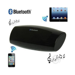 Enceinte Bluetooth universelle portable noir