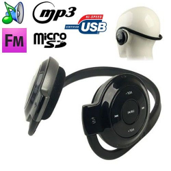 Casque sport lecteur audio MP3 sans fil Radio FM Running Micro SD - Casque sport - www.yonis-shop.com