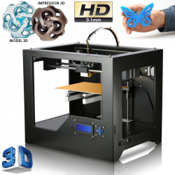Imprimante 3D Windows 8 7 XP MAC OS impression HD 0.1mm en PLA ou ABS - Imprimante 3D - www.yonis-shop.com