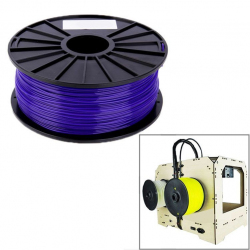 Bobine de fil PLA 1.75 mm biodégradable imprimante 3D filament Violet