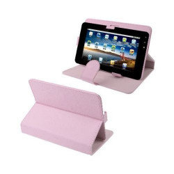 Housse universelle tablette tactile 7 pouces support étui Chic Rose