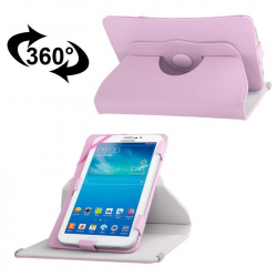 Housse universelle 7 pouces support tablette tactile étui 360° Rose - Housse tablette - www.yonis-shop.com