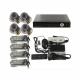 Kit vidéosurveillance enregistreur 4 caméras IP Sharp 1/3 420 TVL - Kit vidéosurveillance - www.yonis-shop.com