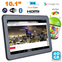 Tablette tactile Android 4.2 10 pouces Dual Core Bluetooth 40 Go