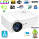 Vidéoprojecteur Android 4.2 3200 Lumens LED 140W Full HD 1080p Blanc - Videoprojecteur - www.yonis-shop.com