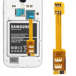 Adaptateur Dual SIM / Micro SIM smartphone galaxy Note 3 S4 S5 Accessoire Smartphone YONIS