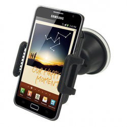 Holder smartphone GPS support voiture universel rotatif noir - Support auto - www.yonis-shop.com