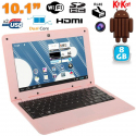 Mini PC Android 4.4 Netbook Ultra portable 10 pouces WiFi 8Go Rose - Mini PC Android - www.yonis-shop.com