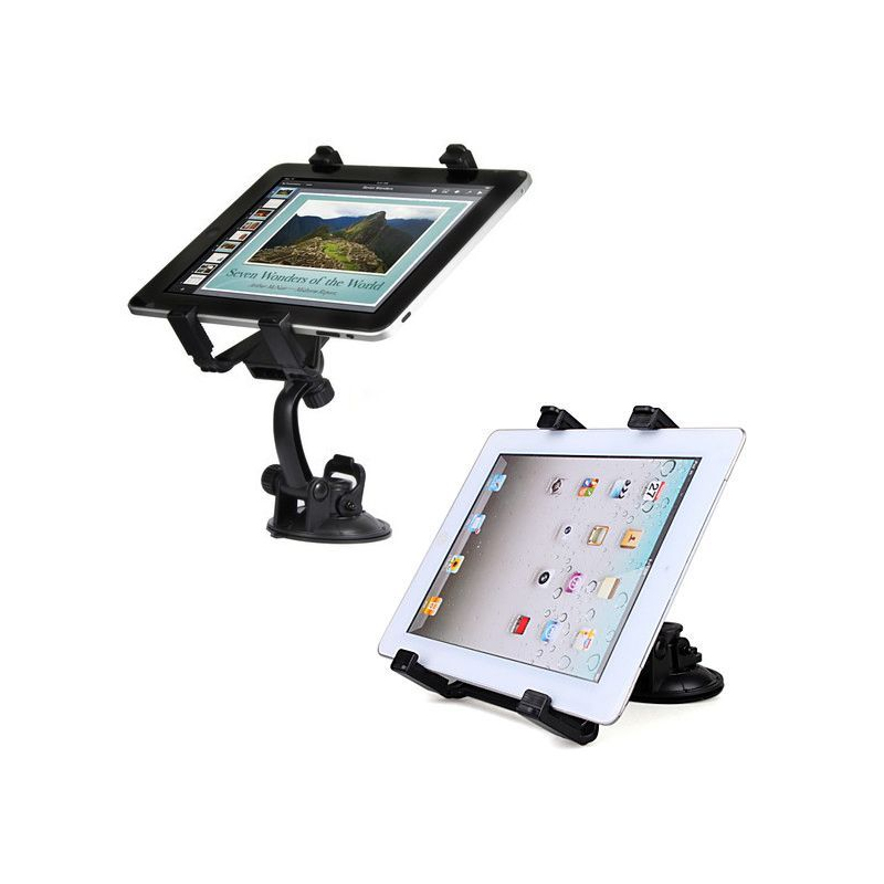 support voiture ipad 2 holder auto universel tablette tactile 10 pouce. Black Bedroom Furniture Sets. Home Design Ideas
