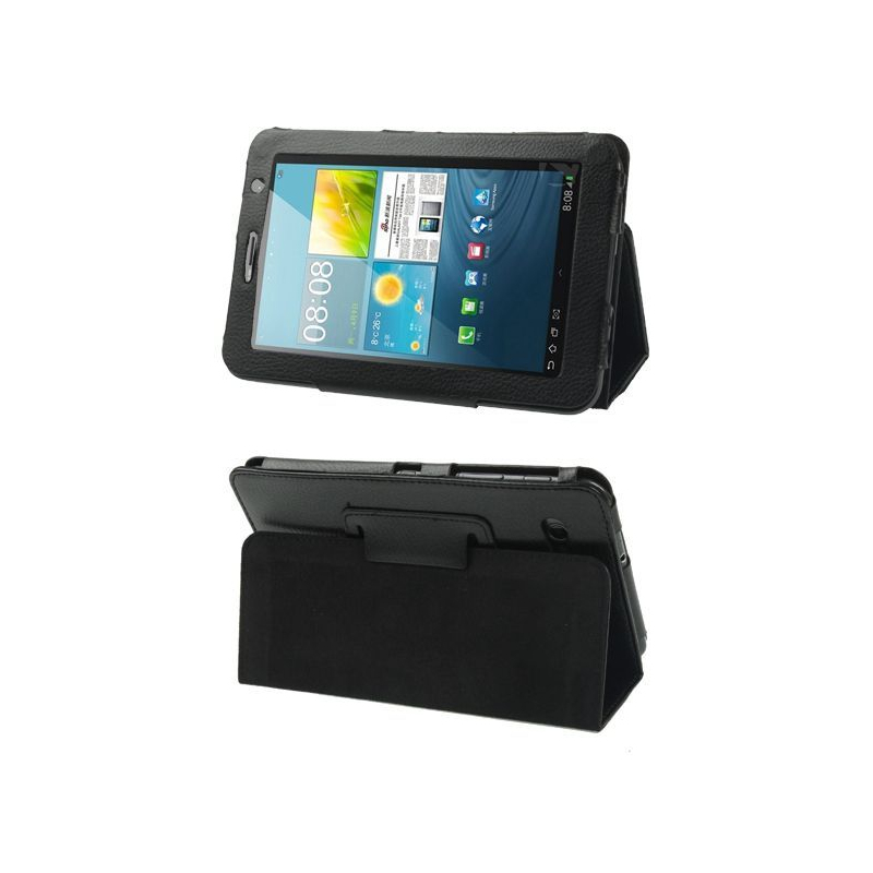 Housse samsung galaxy tab 2 gt p3100 7 pouces support cuir for Housse tablette samsung