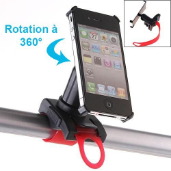 Support 360° vélo iPhone 4 4S holder moto VTT