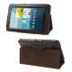 Housse Samsung Galaxy Tab 2 GT P3100 étui 7 pouces support Marron - Housse tablette Samsung 7 pouces - www.yonis-shop.com