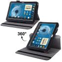 Housse Samsung Galaxy Note N8000 étui 10.1 pouces 360° Luxe Noir - Housse tablette Samsung 10 pouces - www.yonis-shop.com