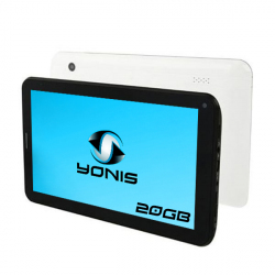Tablette tactile 3G Android 4.0 7 pouces GSM WiFi 3D HD 20 Go Blanc