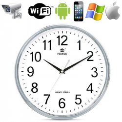 Horloge caméra espion Wifi Point to point Android iPhone iPad